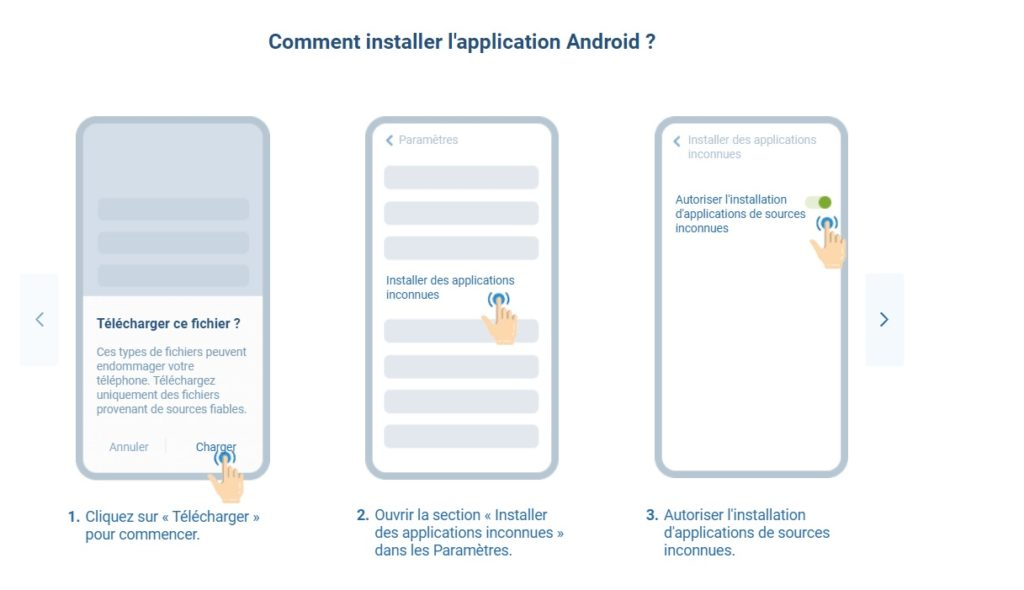 Comment installer Android APK