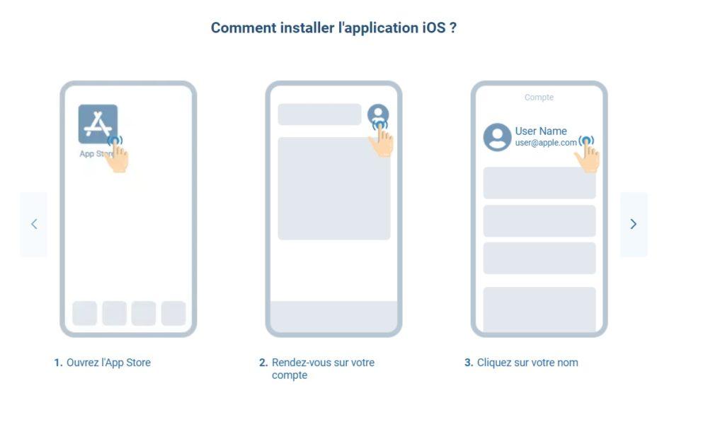 Comment installer iOS app